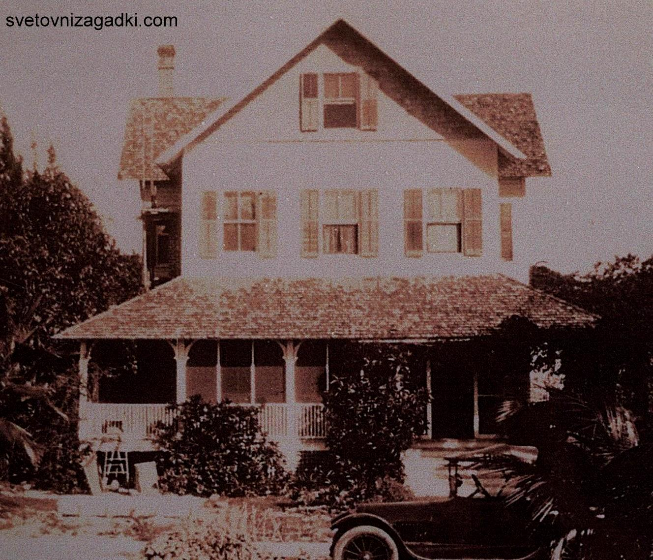 Copy photo shows the Riddle House in 1920.  Photo courtesy Yesteryear Village ORG XMIT:   ORG XMIT: MER0707271047310048