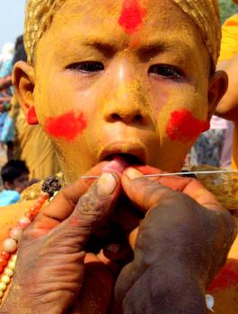 MYANMAR-INDIA-FESTIVAL-HINDUISM