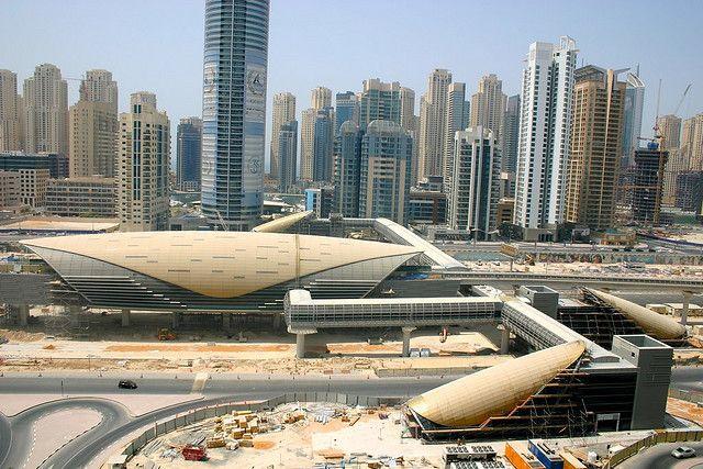 Dubai Metro Progress Aug 09