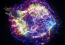 A supernova remnant located about 10,000 light years from Earth