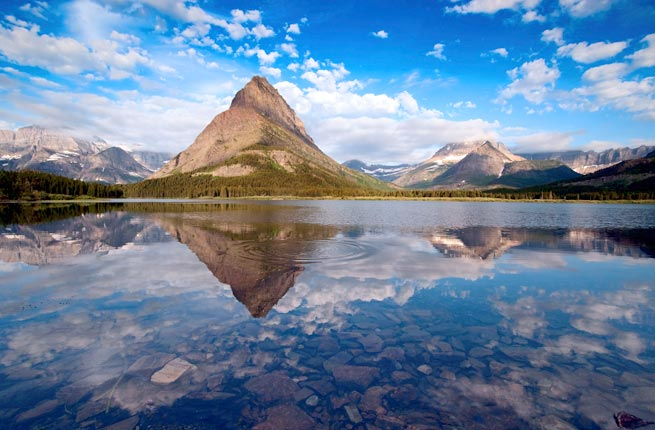 Glacier National Park. Montana. USA