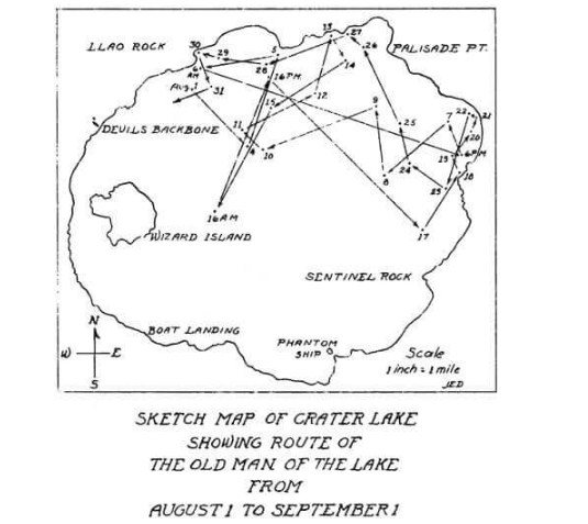 Едно от наблюденията на движението на пъна, направено в началото на ХХ век.