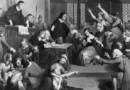 1692 г., в съдебната зала настава хаос по време на процеса на вещица Източник: Getty Images