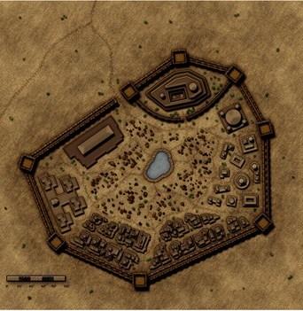 Възстановка: Смятаният за измислен древен град Убар изплува от пясъците.