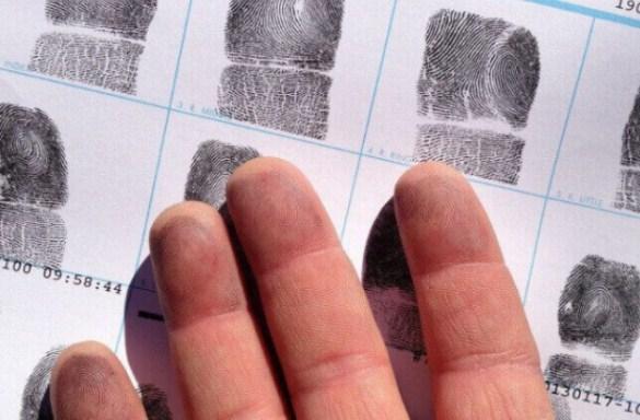 пръстови отпечатъци