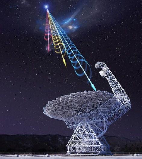 Космически радиоимпулси