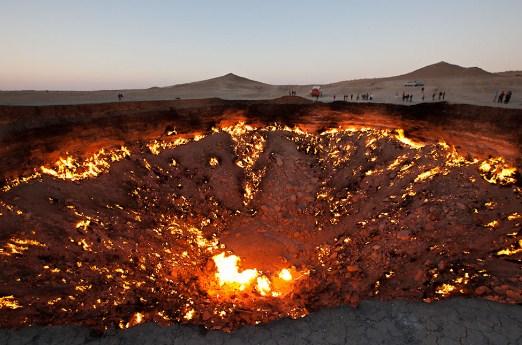 Вратата на ада, Туркменистан