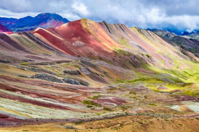 Планината на дъгата, Перу 1