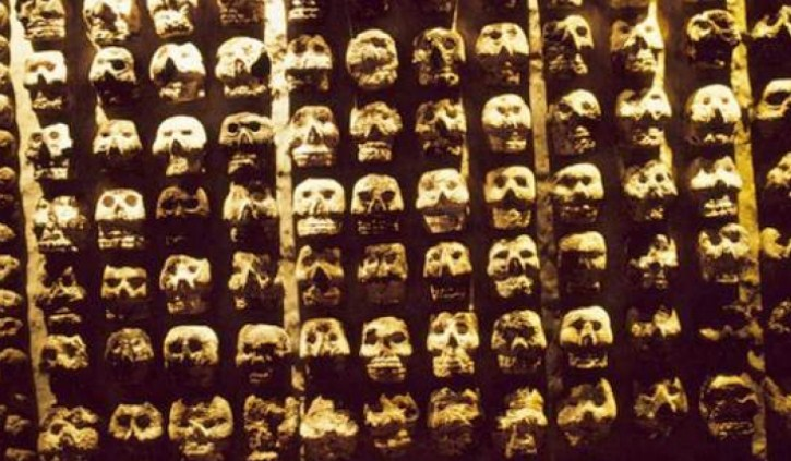 черепи ацтеки