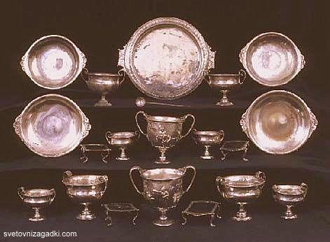 Множество съкровища са открити при разкопките на Помпей (галерия ...